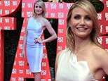 Sneak preview! Cameron Diaz wears a very tight dress to the Barcelona premiere of her new film Sex Tape