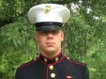 Proud to serve: Lance Corporal Brandon Garabrant, a 19-year-old Marine, was killed by a roadside bomb in Afghanistan on Friday