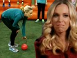 'I have a problem with parents that let their kids win': Kate Gosselin incites a riot with tough love stance during ball game