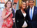 'Unbutton those jeans and glory in the elastic waistband!' How Savannah Guthrie is guilt-free about breaking the 'pregnant weight-gain rule'