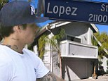 Missing someone? Casper Smart finds the perfect way to stay close to ex Jennifer Lopez... move to a street with the same name