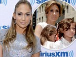 A far cry! Jennifer Lopez admits she realizes her children are being raised in a much different environment than she experienced