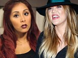 'Had no idea I was mean to you!' Khloe Kardashian apologises after Snooki slams her for being rude 'right to my face'