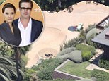 Rad pad! Angelina Jolie and Brad Putt build a skate park in their backyard of their multimillion dollar compound