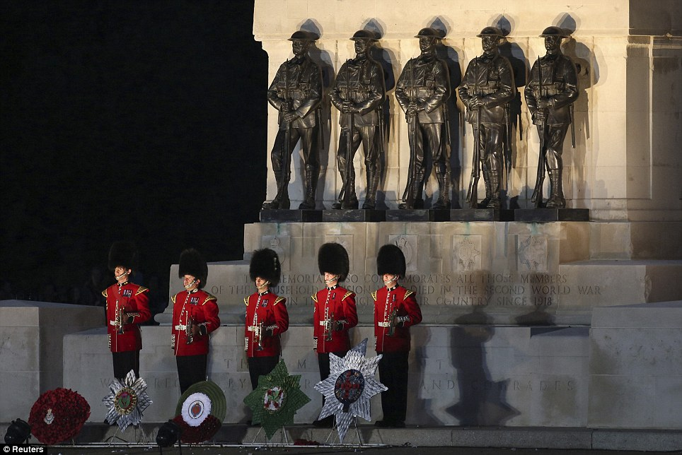 The annual display of pomp took on a special resonance this year, marking the 70th anniversary of D-Day and the centennial commemorations of the First World War