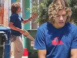 Arnold Schwarzenegger's love child Joseph Baena spends his summer vacation volunteering at the Salvation Army in notoriously rough Compton
