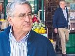 Now that's a Goodfella! Robert De Niro, 70, runs errands for Anne Hathaway on set of new film The Intern