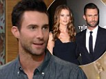 'I got on both knees!': Adam Levine reveals how he awkwardly proposed to his supermodel fiancée Behati Prinsloo... who he'll marry next month