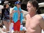 Sir Paul McCartney, 72, enjoys relaxing Ibiza getaway with wife Nancy Shevell, 53, as he admits ¿hitting the bottle after Beatles split¿