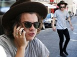 He was visiting Paris with One Direction. And Harry Styles seemed to have picked up some style tips from the French as he rocked a rather debonair hat.