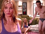 Cameron Diaz and Jason Segel strip down to their underwear in new red band trailer for their raunchy comedy Sex Tape
