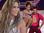 I'm Into You? Jennifer Lopez is spotted flirting with Dancing With The Stars professional Maksim Chmerkovskiy