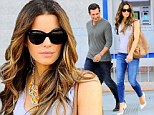 Can't take my eyes off of you! Kate Beckinsale's husband Len Wiseman can't help but admire his gorgeous wife