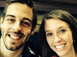 Big day: Jill Duggar tied the knot with love Derick Dillard on Saturday in front of a 1000-strong congregation in their hometown of Springdale, Arkansas
