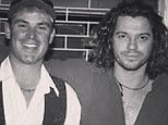Shane Warne, 44, looks like a daggy dad at 24 in 1993 flashback photo with the late Michael Hutchence... and he didn't even have kids yet