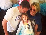 Jamie Lynn Spears' daughter Maddie celebrates sixth birthday with Frozen cake... as absent aunt Britney shares videos from the celebration
