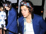 Harry Styles at Chiltern Firehouse