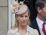 Sophie Rhys-Jones pictured at the Trooping the Colour last week
