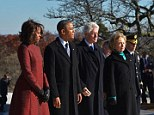 Marriage of necessity: The Clintons fear that the Obamas will renege on their promise to support Hillary in 2016