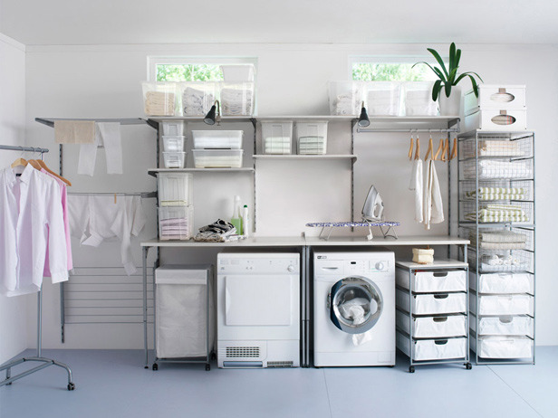 Laundry Room Storage Ideas | Interior Home Design