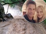 Rob Lowe and family rescued from massive storm as their home in the South of France is submerged by raging flood