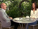 Matt Lauer enjoyed a cup of tea during his interview with Pippa Middleton in London today where she revealed on camera for the first time what its like 'to be Pippa'