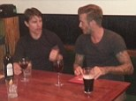 Look who it is: David Beckham and Tom Cruise left fans stunned as they enjoyed drinks at a pub in Notting Hill, London