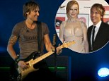 'I sang this at our wedding eight years ago': Keith Urban celebrates his anniversary on stage performing the song he and wife Nicole Kidman said 'I do' to