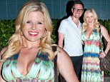 Pregnant Broadway star, 33-year-old Megan Hilty, and her musician husband Brian Gallagher were out in the Chelsea neighborhood of New York Tuesday evening