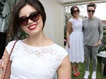 All Sweetness &... White! Daisy Lowe wowed in a pretty 1950s-style dress for the launch of her cookery book while supported by her showbiz pals