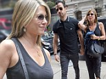 Jennifer Aniston and Justin Theroux hit the shops the morning after getting touchy feely at first red carpet event together this year