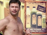 'Don't judge!' Ryan Seacrest reveals he's starting week-long bikini cleanse juice diet just in time for summer