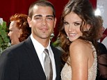 Panty raid: Courtney wasn't too thrilled when she found a pair of pink panties in boyfriend Jesse Metcalfe's bed