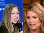 Today show presenter and daughter of George W, Jenna Bush, said on Wednesday the Clintons 'are a close family... the fact we're talking about somebody's money is unfortunate.'
