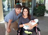 Oh baby! DOOL star Bryan Dattilo and his wife Liz Cameron are the proud parents of Delila, who weighed in at 6lbs 13oz