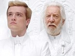 What will Katniss think? Josh Hutcherson stars in new government propaganda teaser for Hunger Games: Mockingjay Part 1