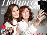 Thelma & Louise duo Susan Sarandon and Geena Davis reunite in new photoshoot 23 years on (and spill on 'difficult' Brad Pitt sex scene)