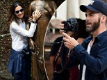 Chris Pine gets to work behind the camera as he explores the famous Italian city with Roberta Armani and friends