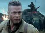 FIRST LOOK: Brad Pitt is a battle hardened soldier facing impossible odds in new trailer for WWII film Fury