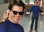 Tom Cruise promotes new film