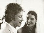 The way they were: Jamie Oliver and his wife Jools on their wedding day 14 years ago