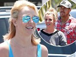 Going strong! Britney Spears and David Lucado 'still together' despite reports of a split