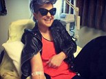 Kelly Osbourne jumps on the bandwagon of the latest celebrity fad and hooks herself up to a vitamin drip