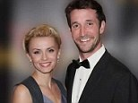 Falling Skies star Noah Wyle ties the knot with Sara Wells in 'beautiful' intimate ceremony at couple's Santa Barbara ranch