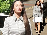 She has not always been associated with a demure approach to fashion. But Tulisa Contostavlos looked elegant for an appearance at Southwark Crown Court.