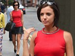 She¿s known for her love of keeping in shape. And fitness addict Lucy Mecklenburgh showed off her toned figure to perfection as she left a hair salon.