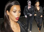 2668766 Attack of the clone! Kris Jenner copies daughter Kim Kardashian's style again... by wearing SAME outfit on the SAME night