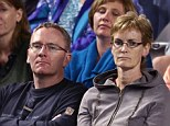 No more courting: Judy Murray, 54, has broken up with her long-term boyfriend, former badminton player Phil Reid, 48