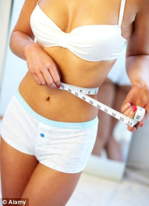 Those of the DNA diet lost 33 per cent more weight than those on standard plans (library image)