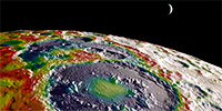 Science Graphic of the Week: A Psychedelic Gravity Map of the Moon's Surface